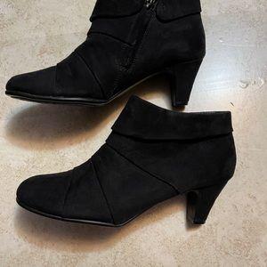 Bass women's black Hannah ankle boot 7 1/2